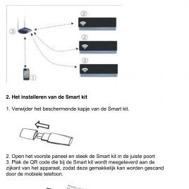 Wifi-Smart-kit-module voor de Tosot